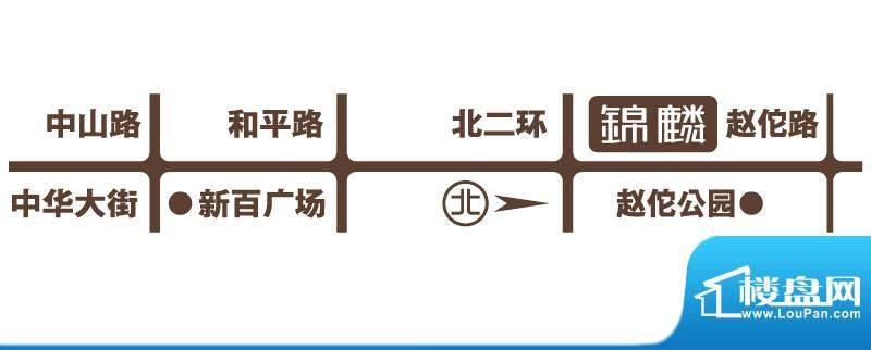 锦麟交通图