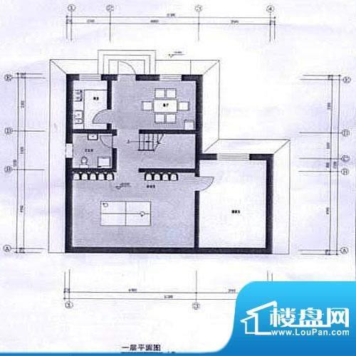水印长滩户型图户型图 1室1厅1面积:286.25平米