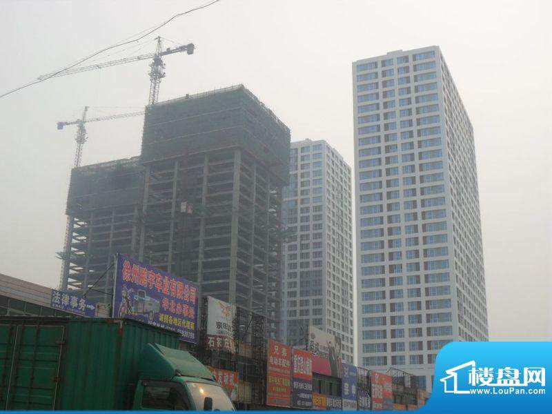 东城国际广场外景图石家庄