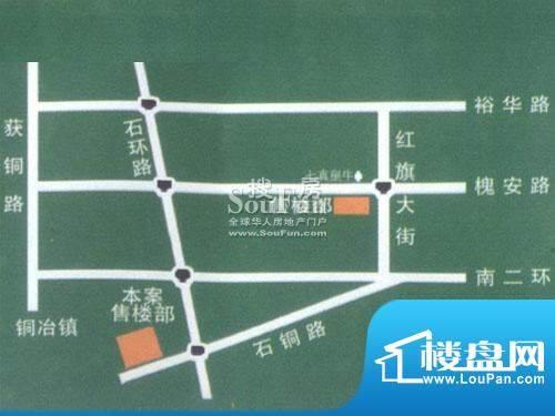 龙洲新城交通图
