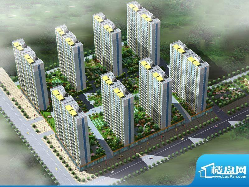 龙洲新城效果图