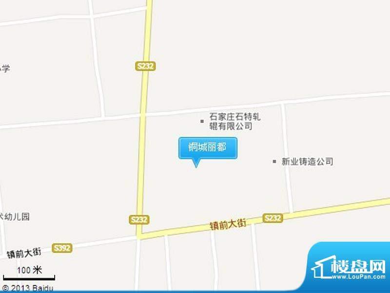 铜城丽都交通图