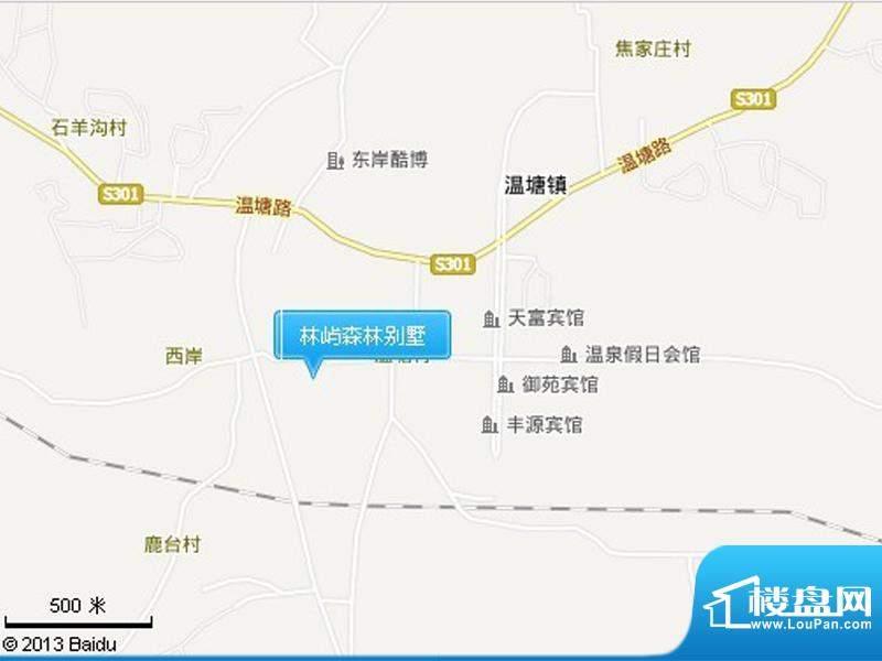 林屿森林别墅交通图