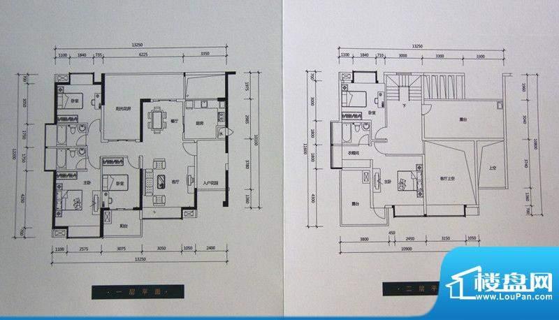 中珠九悦户型图B1户型 5室2厅3面积:231.00平米