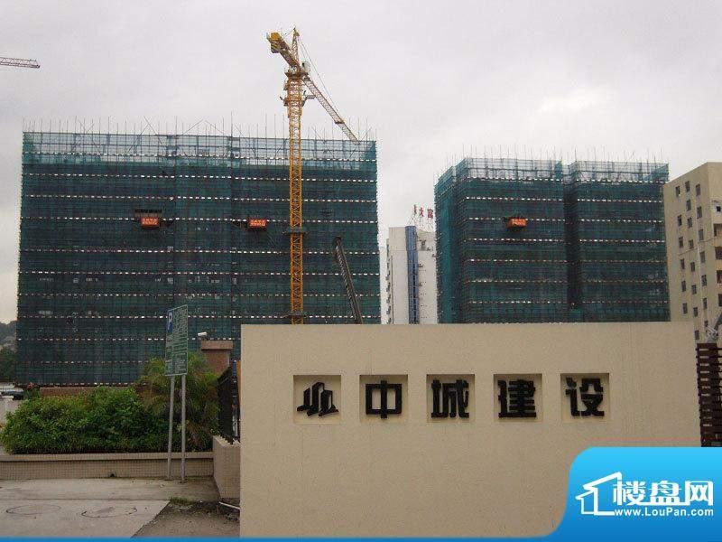 新光御景山外景图20100705实拍项目建设
