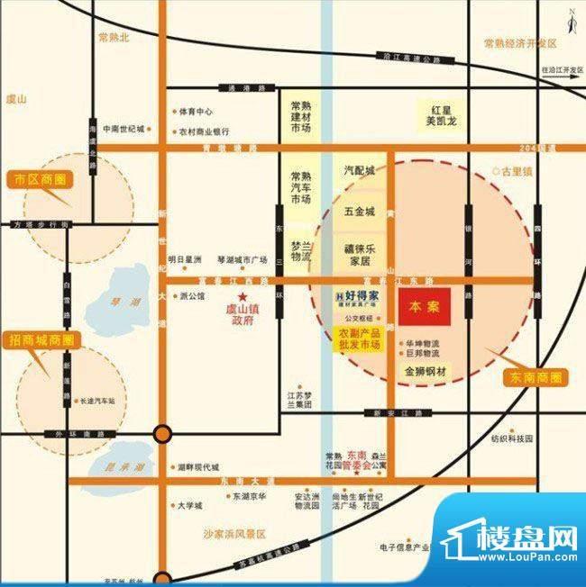 东南悦城交通图
