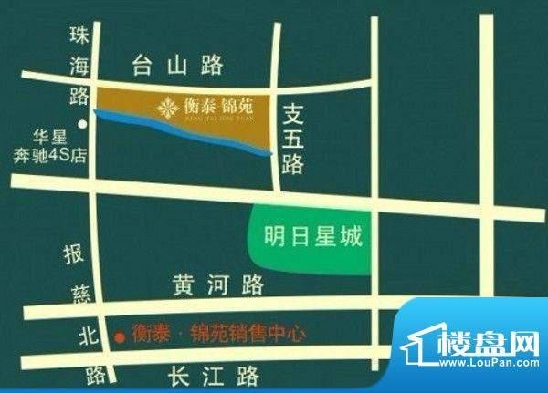 衡泰·锦苑交通图