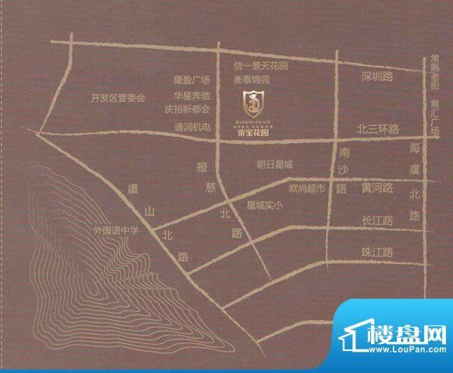 金达帝宝花园交通图
