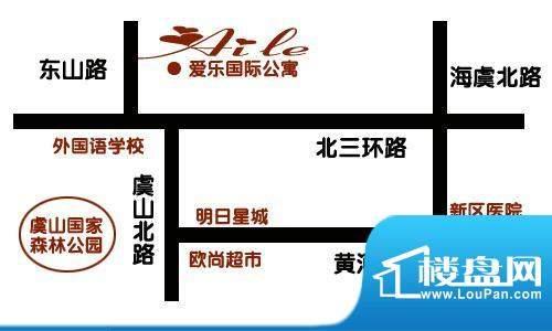 爱乐国际公寓交通图