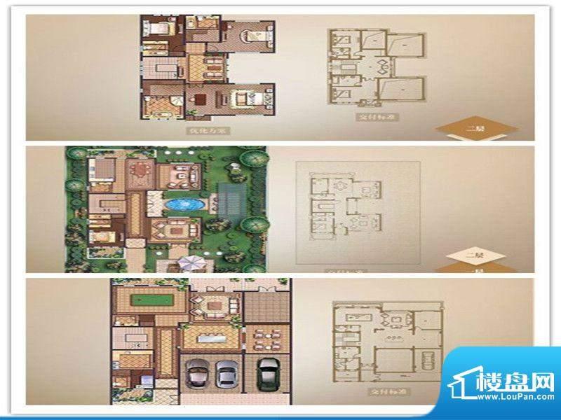 名流御园户型图D户型 4室2厅3卫面积:440.00平米