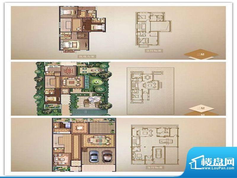 名流御园户型图B户型 4室2厅3卫面积:370.00平米