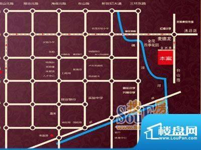 金润家园交通图