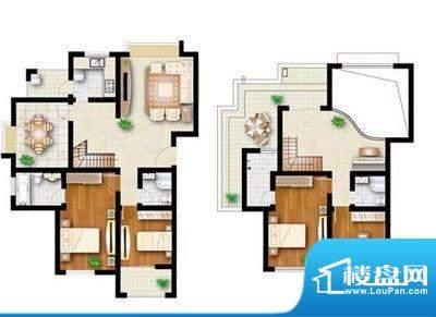 华发水郡 5室 户型图面积:269.00平米