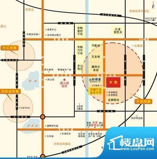 东南食品城交通图