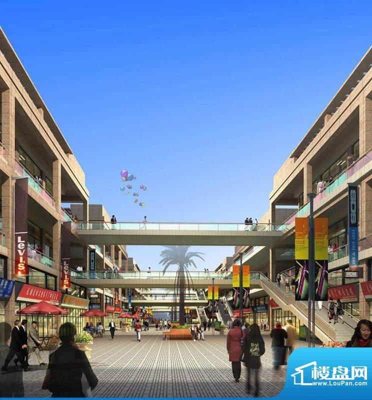东南食品城实景图