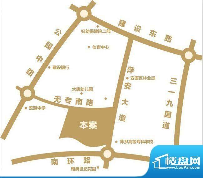 龙华云锦交通图