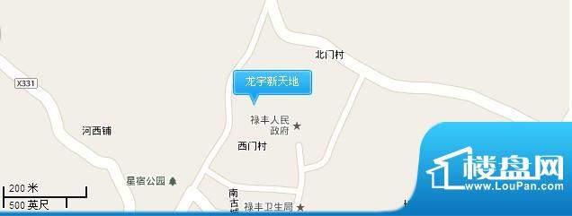 龙宇新天地交通图