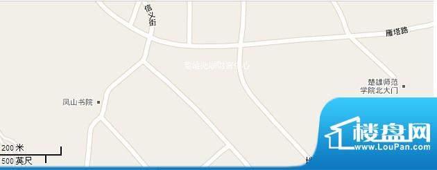 楚雄兆顺财富中心交通图