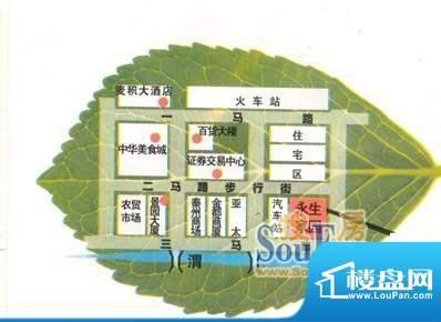 永生家园交通图