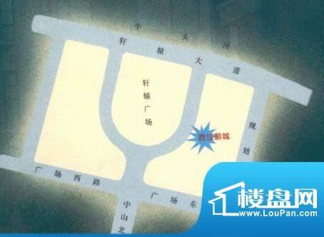 西江新城交通图