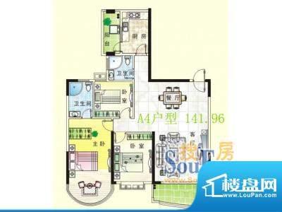 南天豪庭户型图01 面积:0.00m平米