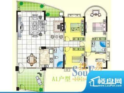 南天豪庭户型图04 面积:0.00m平米