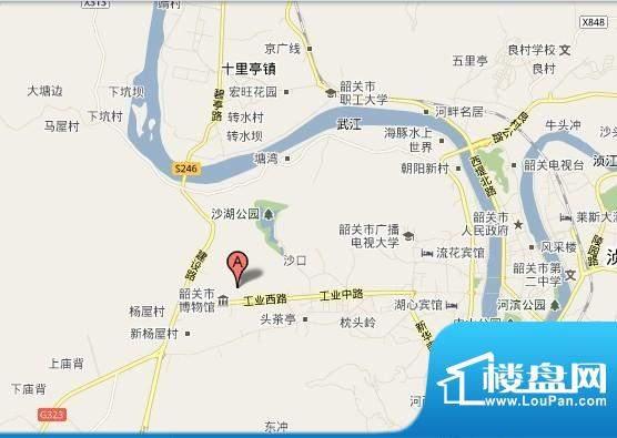 长城世家交通图