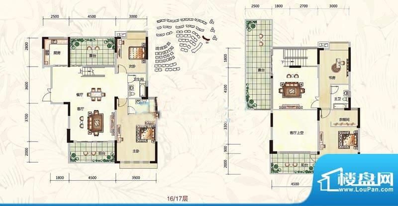 长城世家户型图2 面积:0.00m平米
