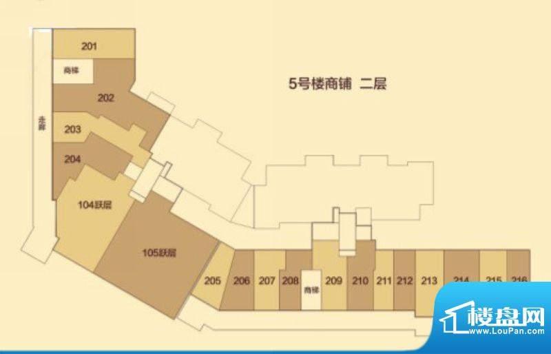 汇豪城5号楼2层户型面积:0.00m平米