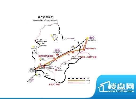 德达·友谊茗城交通图