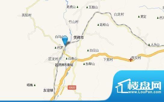 皇龙·西城时代交通图