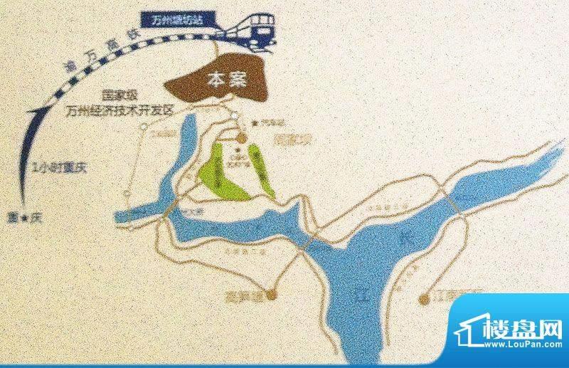康德天子湖交通图