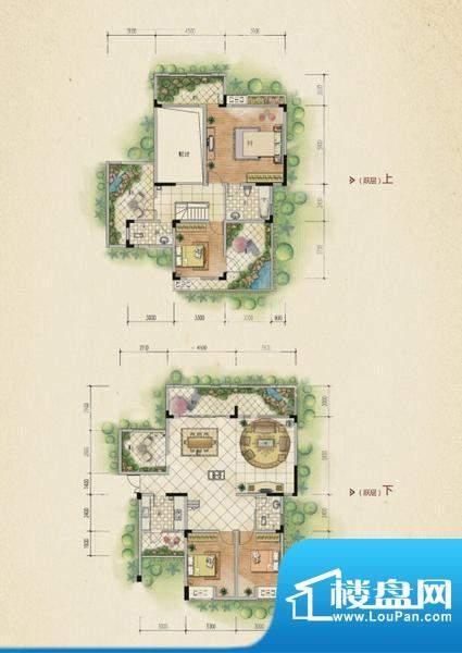 万山国际户型图一期1号楼5层A户面积:179.77平米