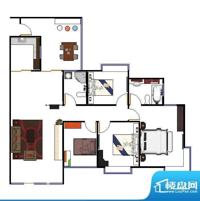 天宏水晶城户型图