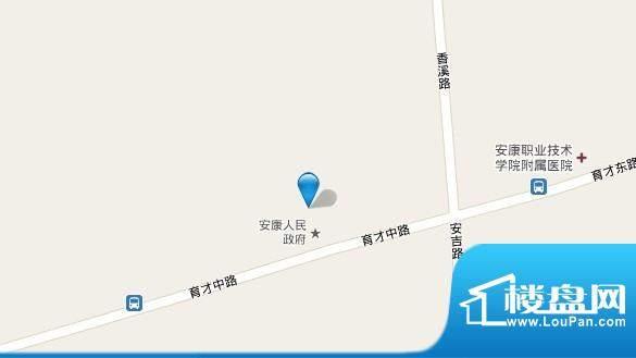 竹园小区交通图