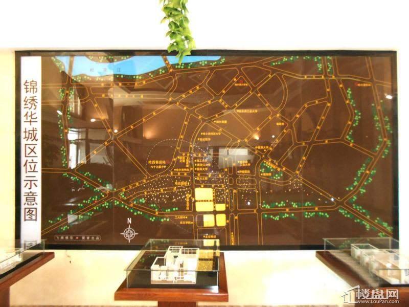 观筑 锦绣华城项目区位示意图(2013-01-06)