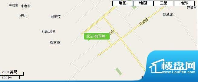 龙记·翡翠城交通图