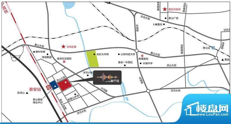 华新新干线位置图
