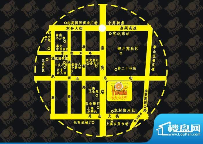 安居·上上城交通图