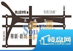 华新·新城交通图