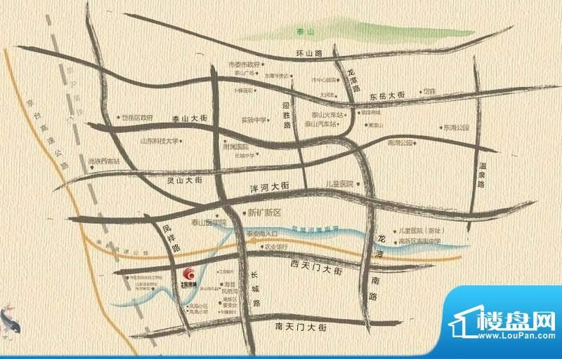 海普·凤凰城交通图