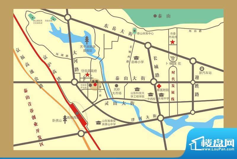 信德·彩世界交通图