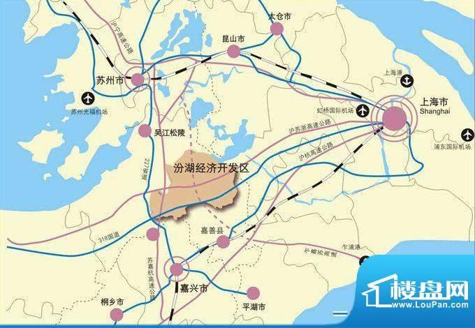 香悦水岸交通图