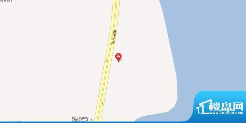 乌桥水岸花园交通图