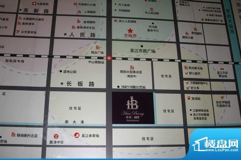 华邦国际交通图