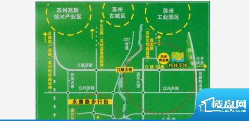 格林华城交通图