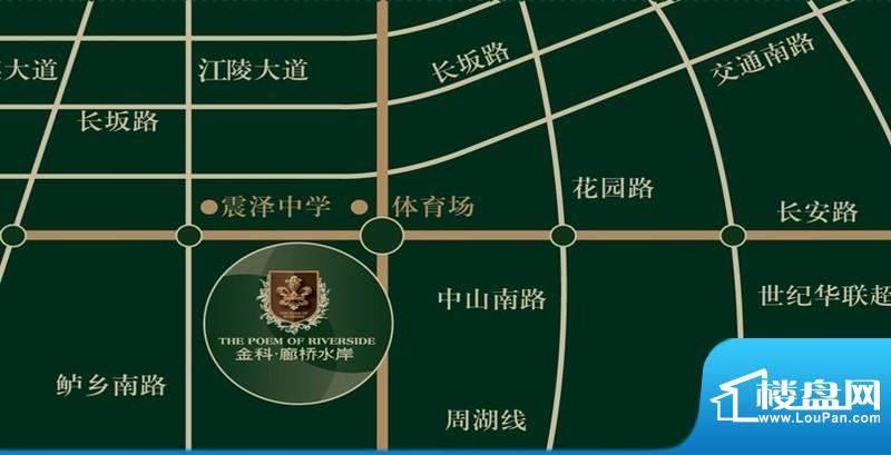金科廊桥水岸交通图