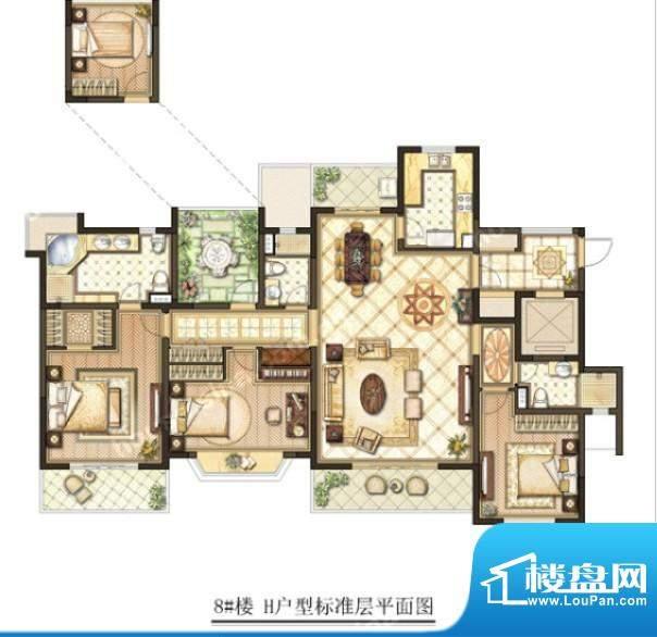 华府壹区户型图户型图 3室2厅2