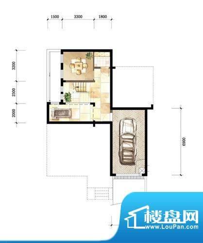 中粮本源户型图小独栋地下层4室面积:260.00平米