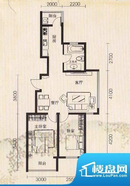 世纪雅苑76.8平 面积:0.00m平米